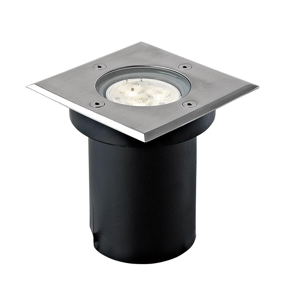 6-Watt Stainless Steel Outdoor Integrated LED Landscape Well Light