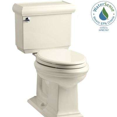 Memoirs Classic 2-piece 1.28 GPF Single Flush Elongated Toilet with AquaPiston Flush Technology in Almond