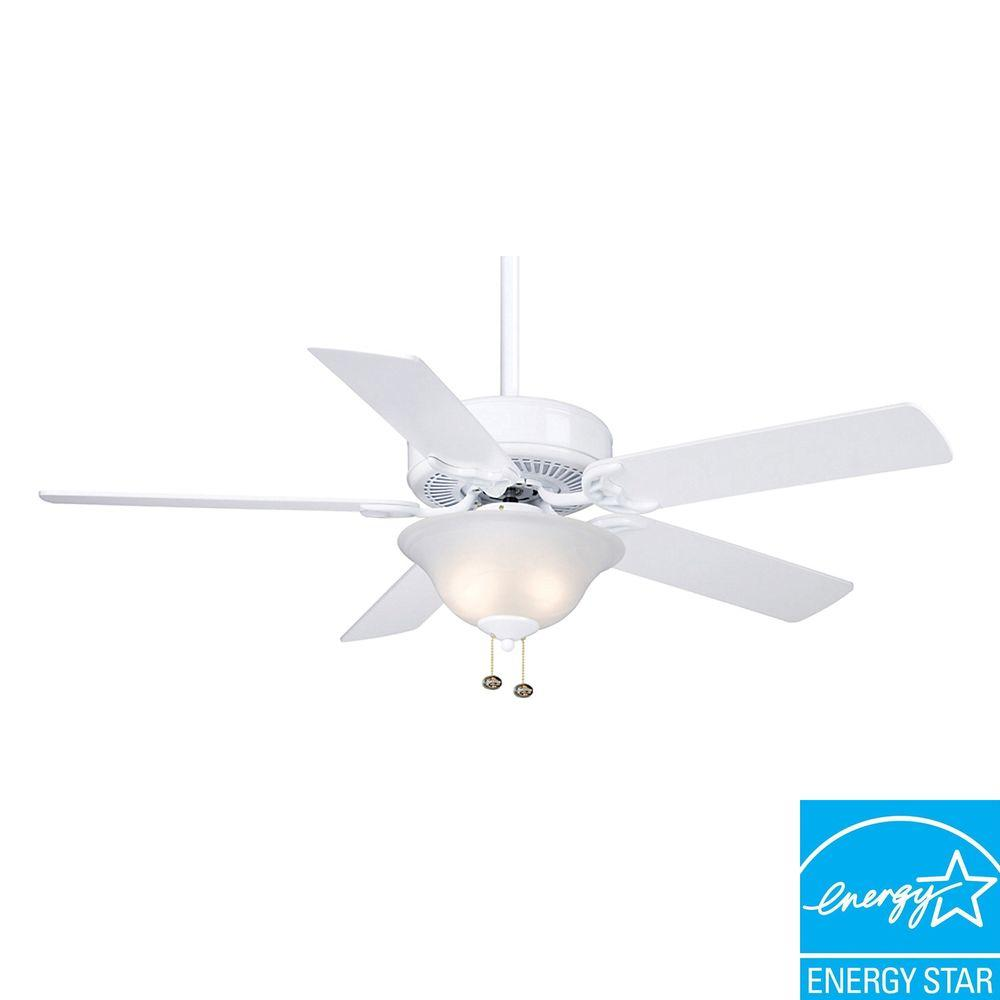 Casablanca Four Seasons III Gallery 52 In. Snow White Ceiling Fan-DISCONTINUED