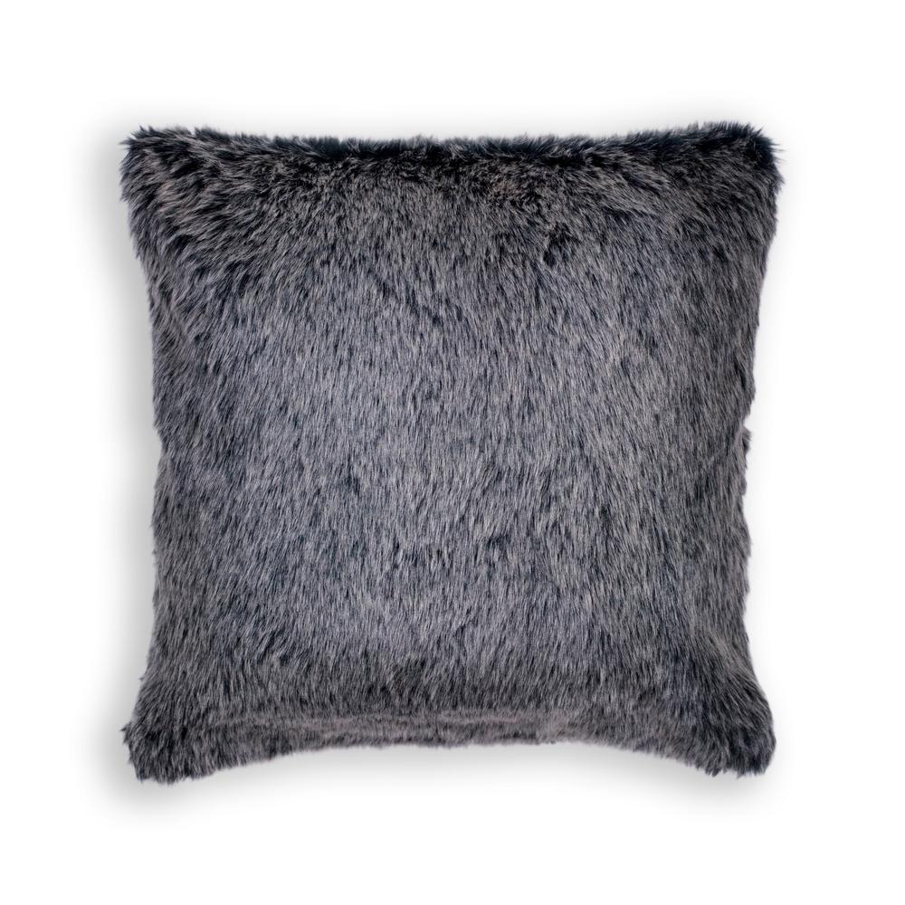 Grey Shepherd 20 in. x 20 in. Decorative Pillow