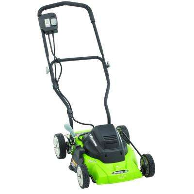 14 in. 120-Volt Corded Electric Walk Behind Push Lawn Mower