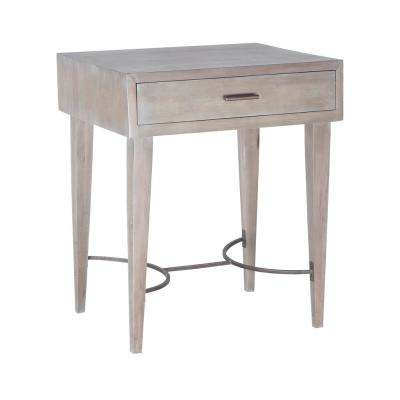 Empire Restoration Gray Side Table