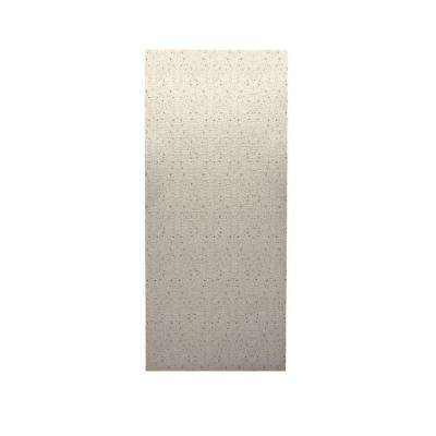 Pebble 1/4 in. x 36 in. x 96 in. One Piece Easy Up Adhesive Shower Wall in Tahiti Desert