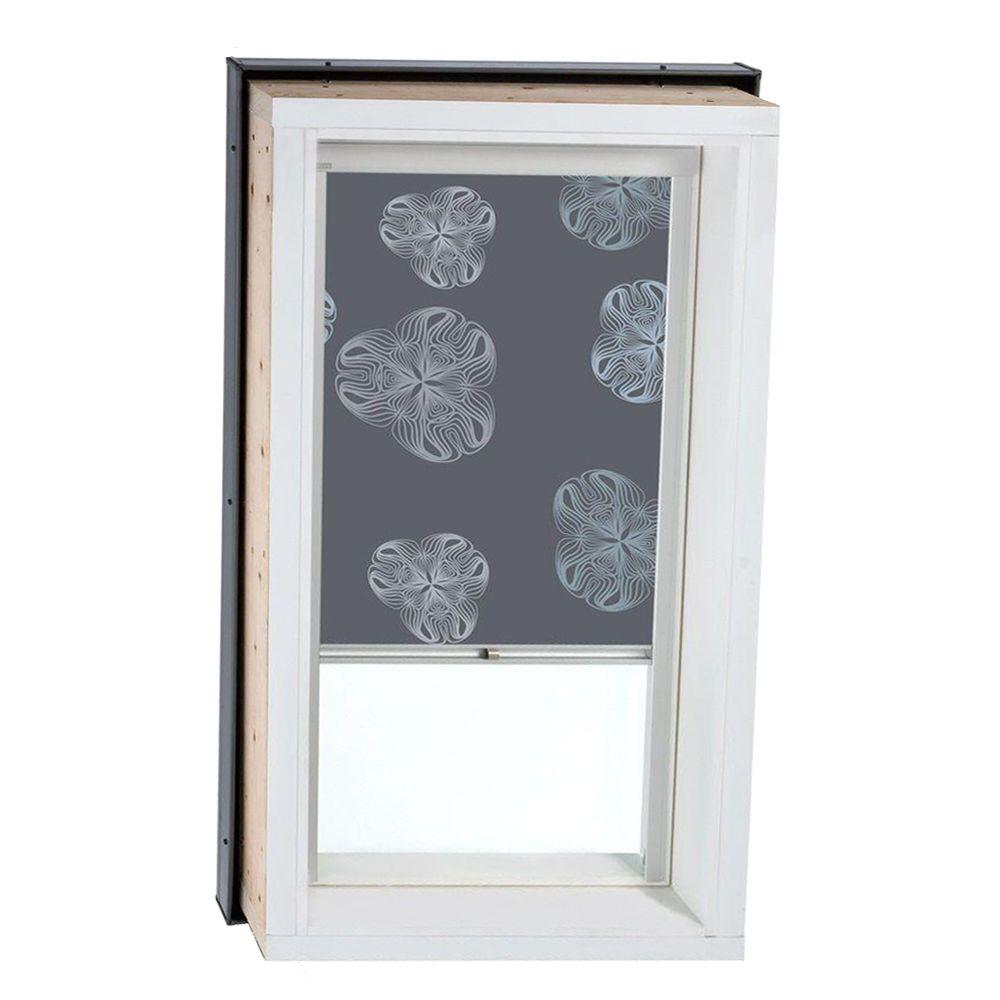VELUX Nature Metallic Gray Manually Operated Blackout Skylight Blinds for FCM/QPF 2230 Models