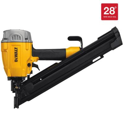 Pneumatic 28-Degree Framing Nailer