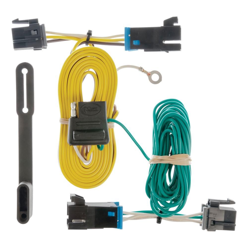 [DIAGRAM_34OR]  CURT 9 in. Long Vehicle-Side Custom 4-Pin Trailer Wiring Harness for Select  Chevrolet Express GMC Savana-55540 - The Home Depot | Chevrolet Trailer Wiring Harness |  | The Home Depot