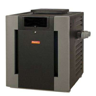 407,000 BTU Low Nox Digital Pool and Spa Heater with Polymer Header