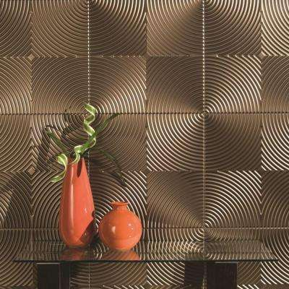 Echo 96 in. x 48 in. Decorative Wall Panel in Fern