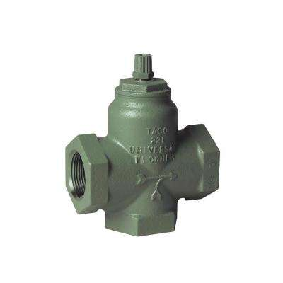Flo-Chek 1-1/4 in. Forced Hot Water Heater Circulator Valve