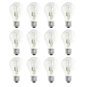 29-Watt Equivalent A19 Dimmable Soft White Halogen Light Bulb (12-Pack)