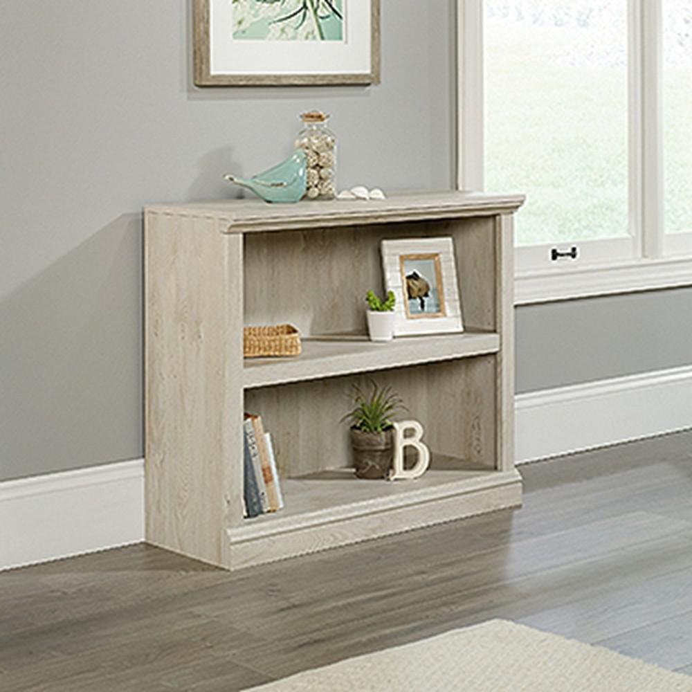 Chalked Chestnut 2-Shelf Bookcase