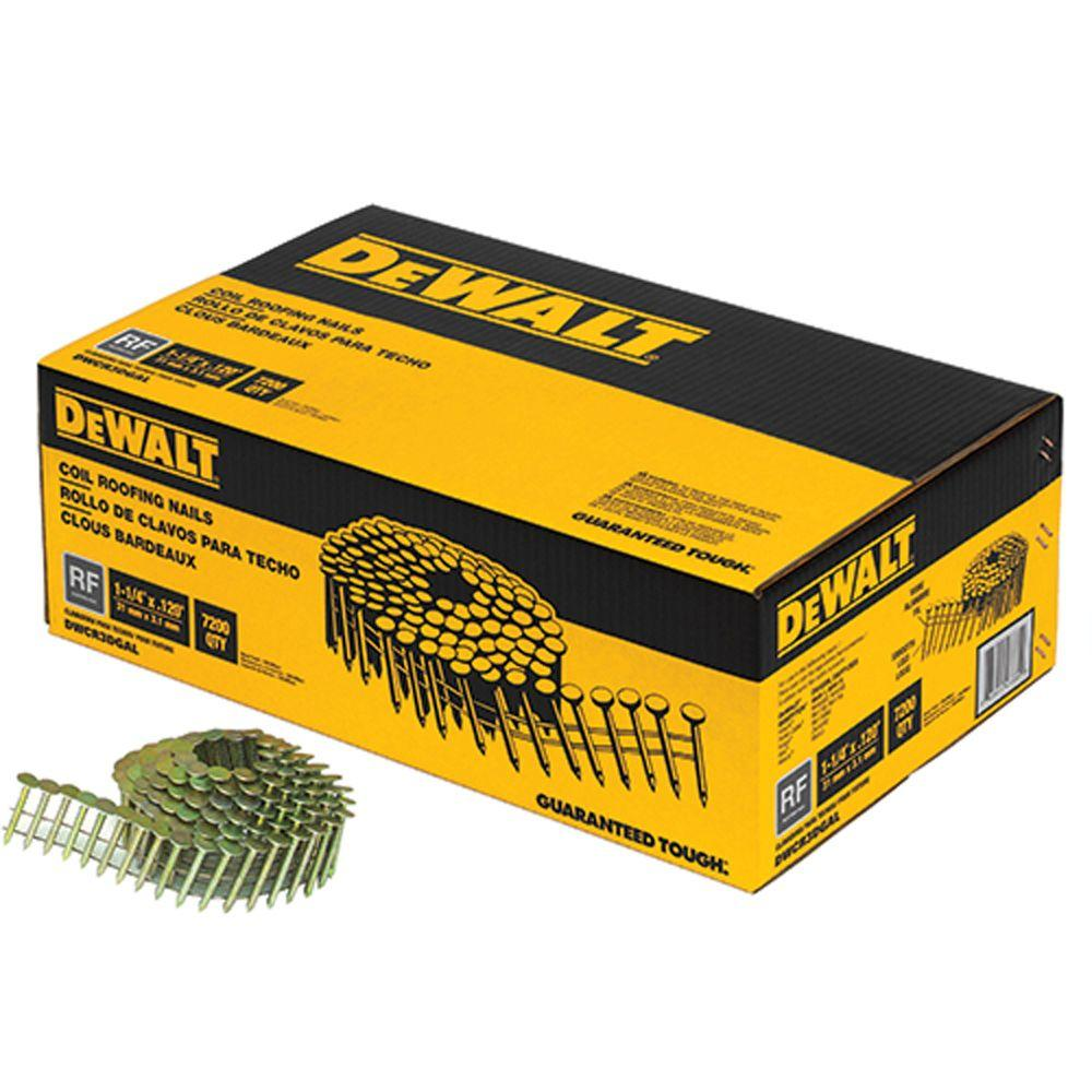 Dewalt 1 1 4 In X 0 120 Gauge Wire Electro Galvanized