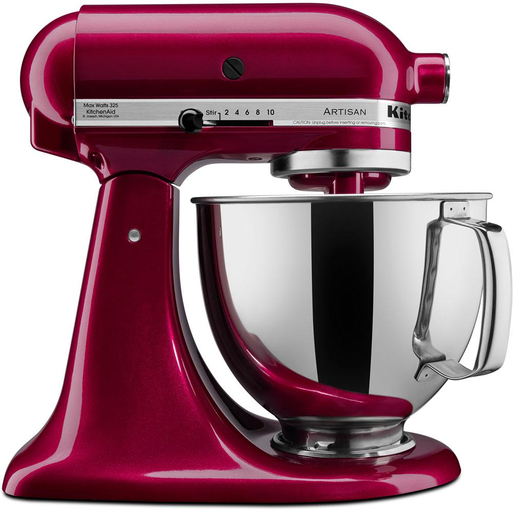 Kitchenaid Artisan Series 5 Qt Tilt Back Head Stand Mixer In