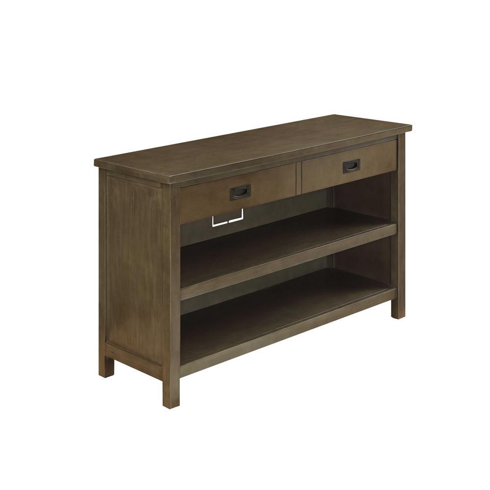 Asteris Gray Oak Console Table