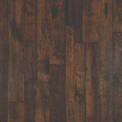 Outlast+ Somerton Auburn Hickory Laminate Flooring 5 in. x 7 in. Take Home Sample