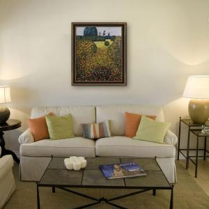 24 inch x 20 inch Field of Poppies Hand-Painted Classic Artwork by