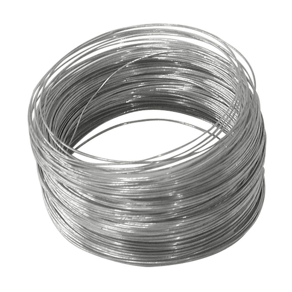 100 ft. 5 lb. 28-Gauge Galvanized Steel Wire
