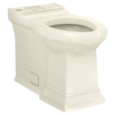 Town Square S 2-Piece 1.28 GPF Single Flush Elongated Toilet in Linen, Seat Included