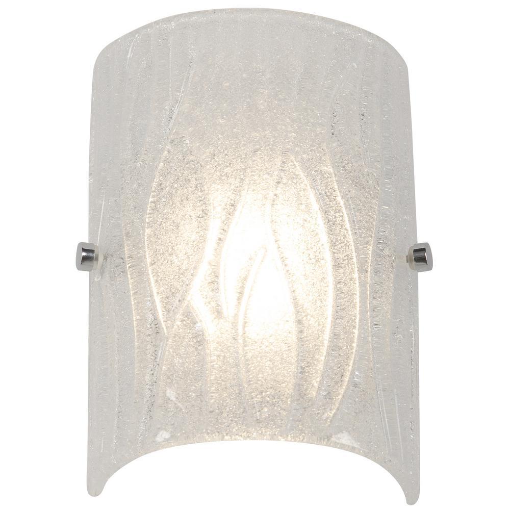 Rogue Decor Brilliance 7.5-Watt Chrome Integrated LED Bath Light