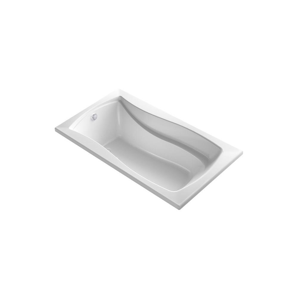 KOHLER Mariposa 5.5 ft. Air Bath Tub in White
