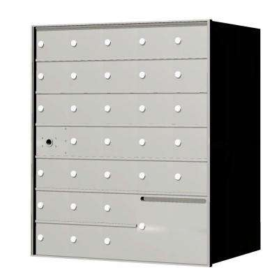 1400 Series 30-Compartment Recessed Horizontal Mailbox