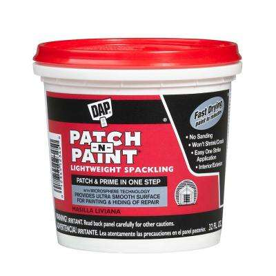 Patch- N-Paint 1 qt. White Lightweight Spackling (8-Pack)