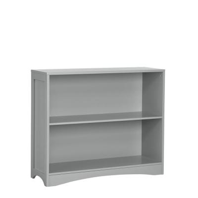 Gray Horizontal Bookcase