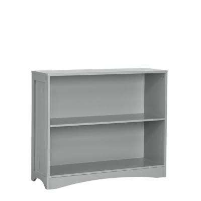 Nice Gray Horizontal Bookcase