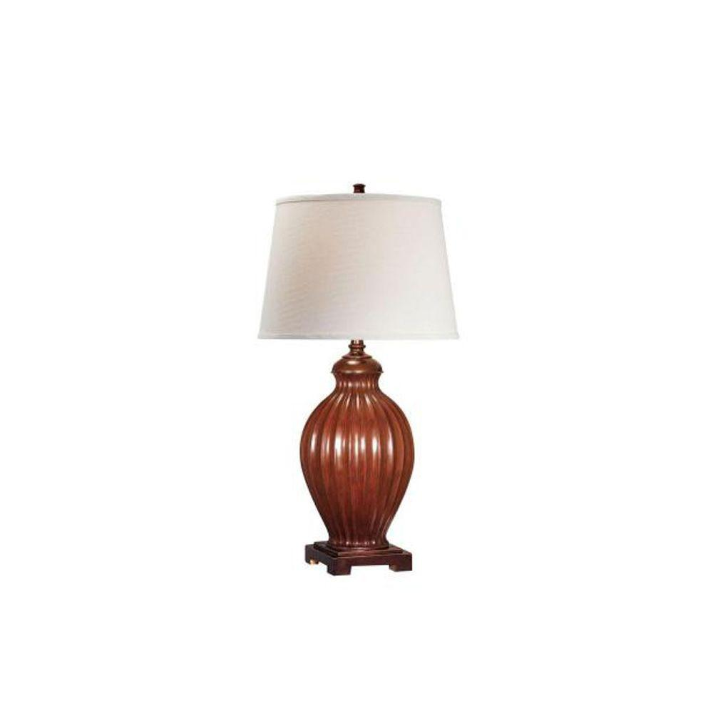 Illumine 30.3 in. Two Tone Table Lamp