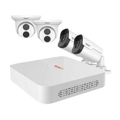 Ultra HD Audio Capable 8-Channel 5MP 2TB NVR Surveillance System with 4 Indoor/Outdoor Cameras