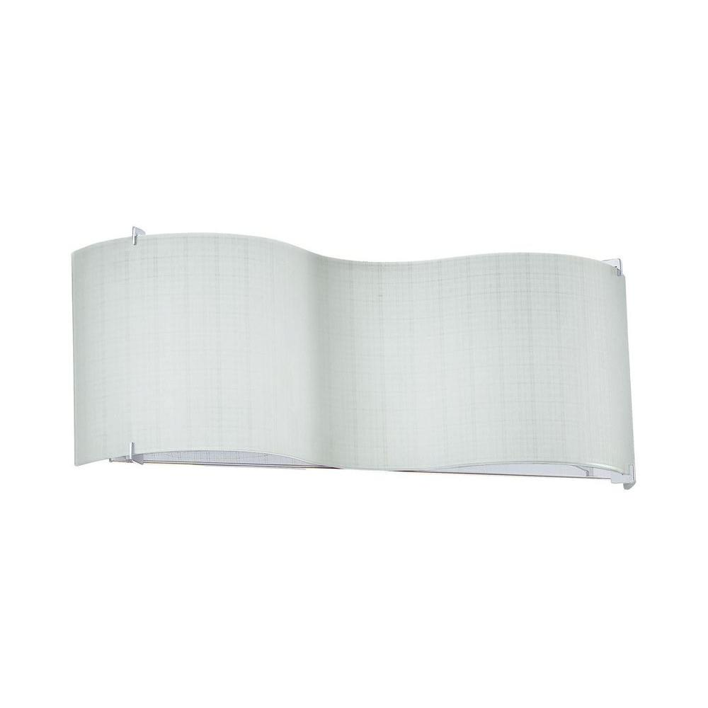 Cassiopeia 2-Light Ceiling Chrome Incandescent Wall Vanity