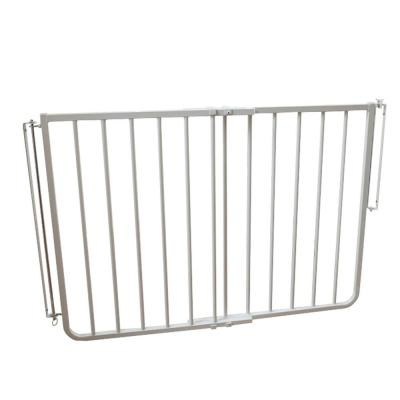 30 in. H x 27 in. to 42.5 in. W x 2 in. D Stairway Special Safety Gate in White