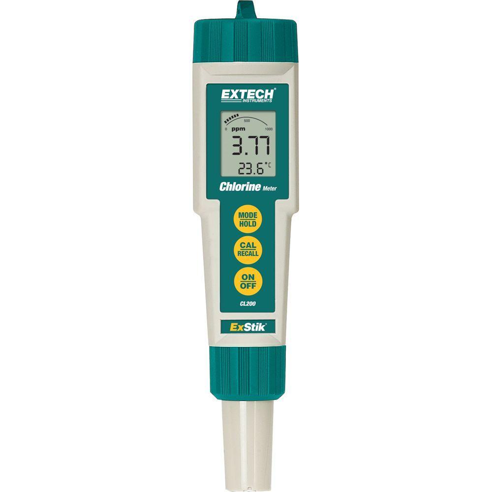 Extech Instruments Exstik Chlorine Meter Cl200 The Home