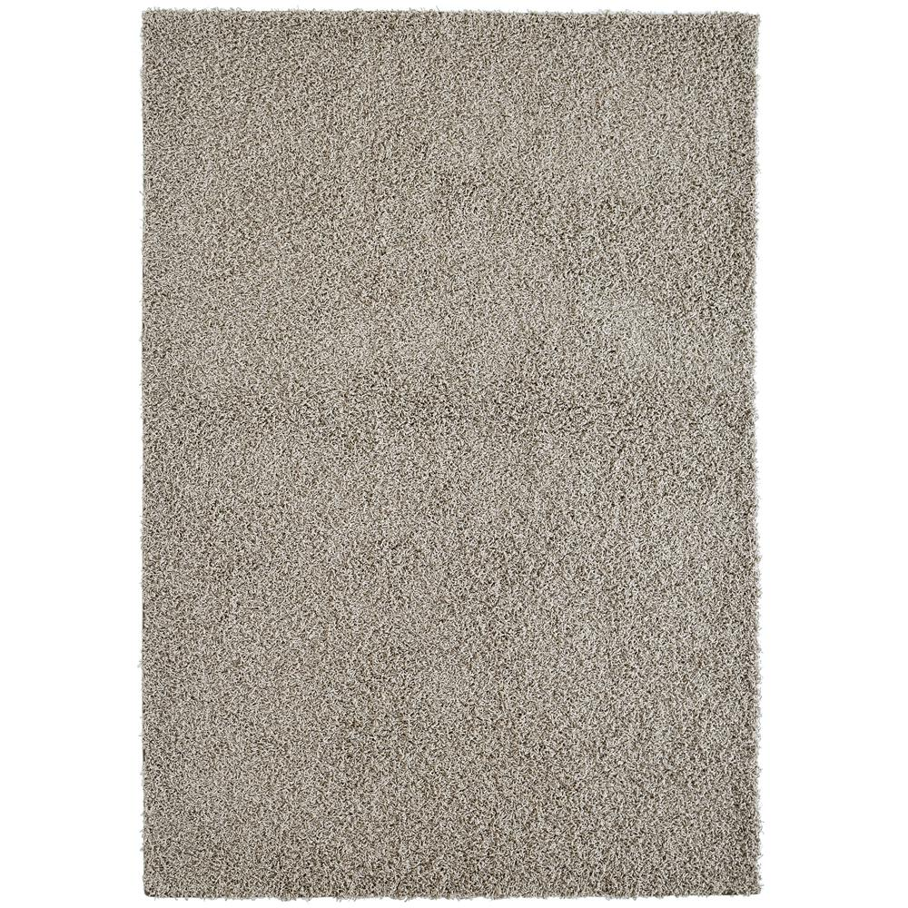 Custom Shag Beige/Taupe 6 ft. x 8 ft. Indoor Area Rug