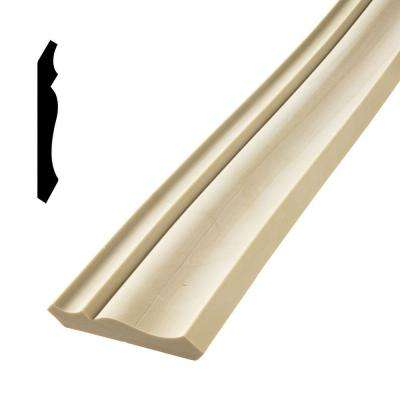 HD 049 9/16 in. x 3-5/8 in. x 144 in. Polyurethane Flexible Crown Moulding