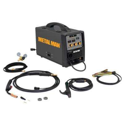 140 Amp 120-Volt Input Power Inverter MIG, Flux Core, DC Stick Welder