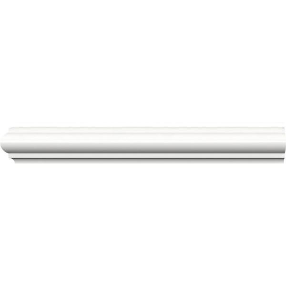 3//8 DIA X 96L White Wood Rope Molding Trim Moulding 10pc HALF-ROUND 80ft