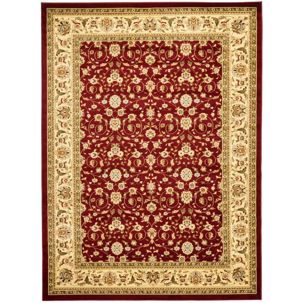 Safavieh Lyndhurst Red/Ivory 3 ft. 3 in. x 5 ft. 3 in. Area Rug