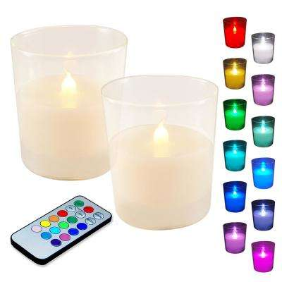 Multi-Function Battery Operated LED Candles (2-Count)