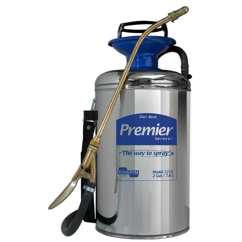 2 Gal. Premier Series Professional Stainless Steel Sprayer