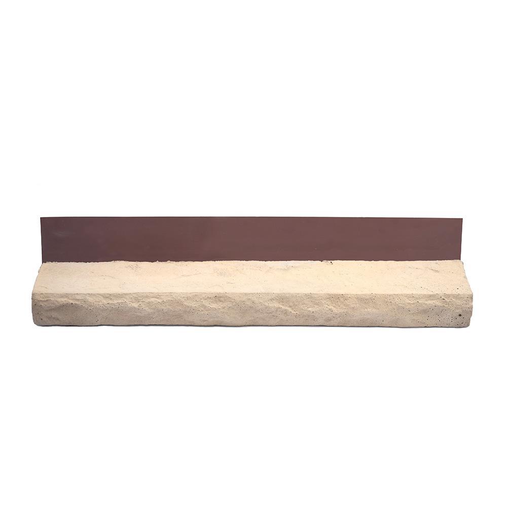 3 1 2 in x 23 1 2 in stone veneer siding tan sills for Mortarless stone veneer panels