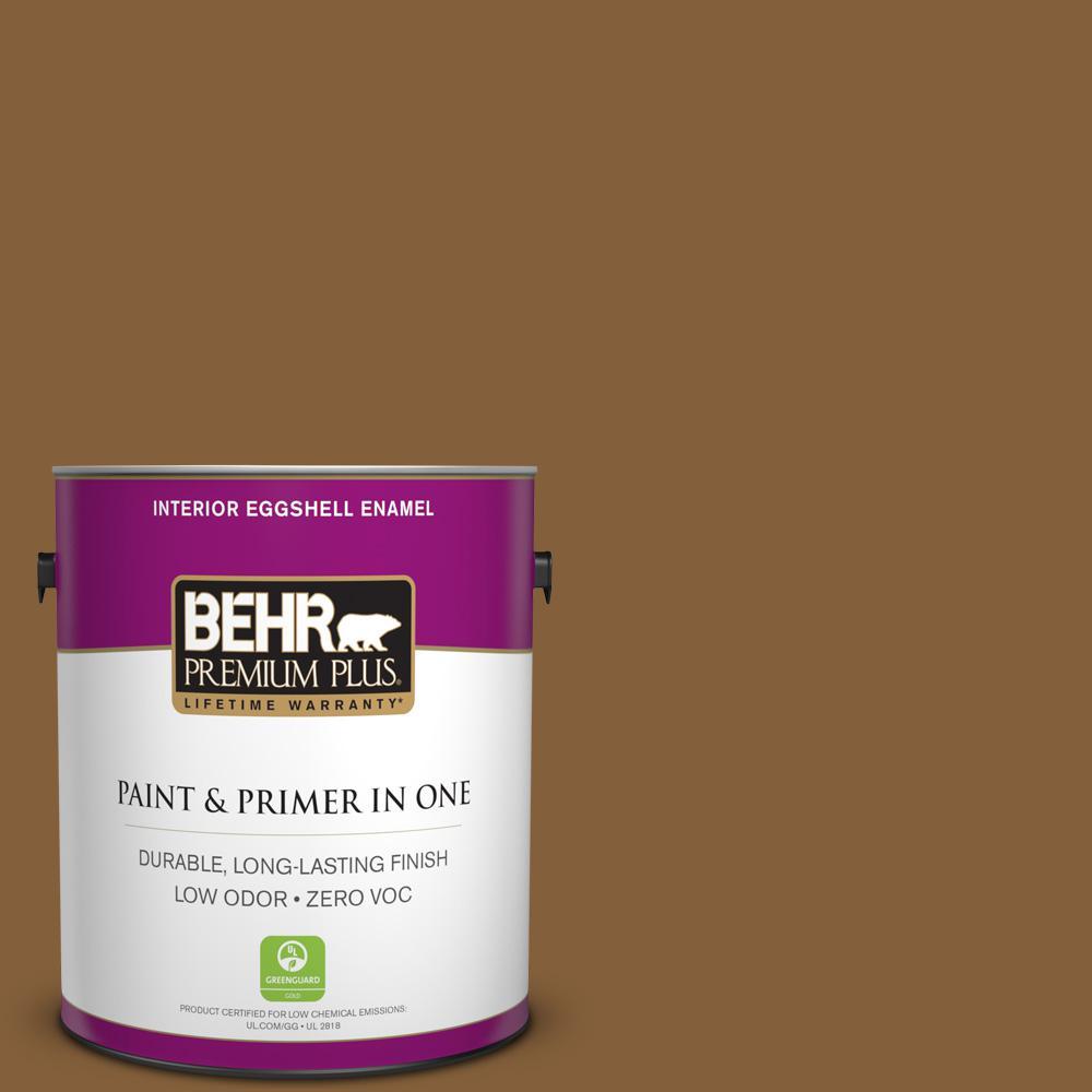 1 gal. #PPU4-18 Spice Bazaar Zero VOC Eggshell Enamel Interior Paint
