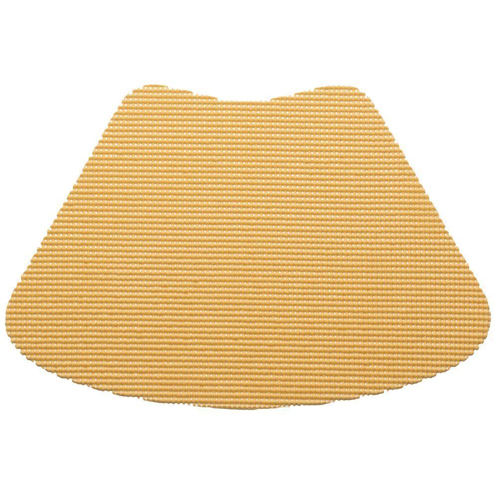 Kraftware Fishnet Wedge Placemat in Camel (Set of 12) by Kraftware