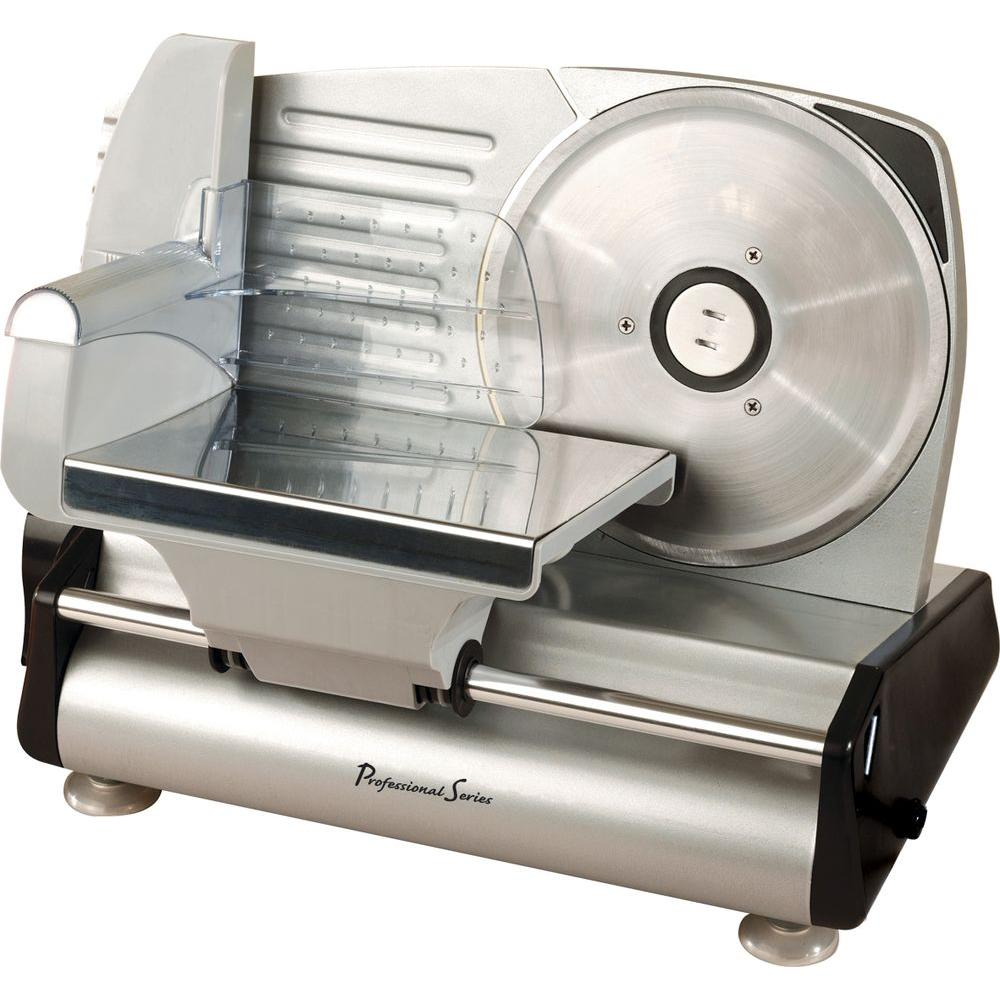 Professional Series Collezioni Deli Slicer in Stainless Steel