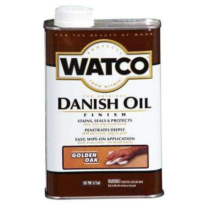 1 pt. Golden Oak 275 VOC Danish Oil (4-Pack)