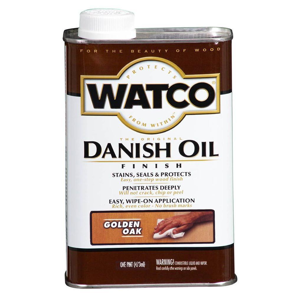 1 pt. Golden Oak 275 VOC Danish Oil (Case of 4)