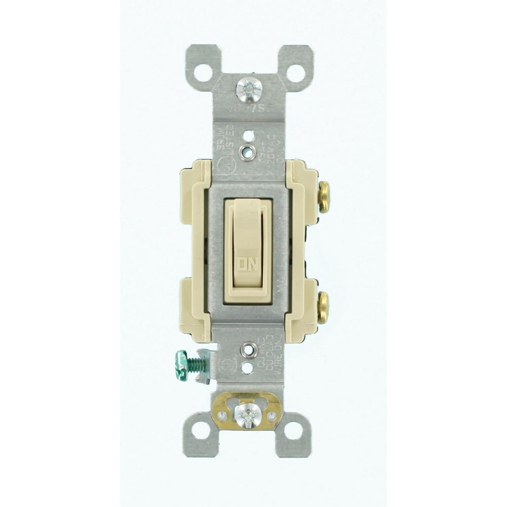 15 Amp Preferred Switch, Ivory