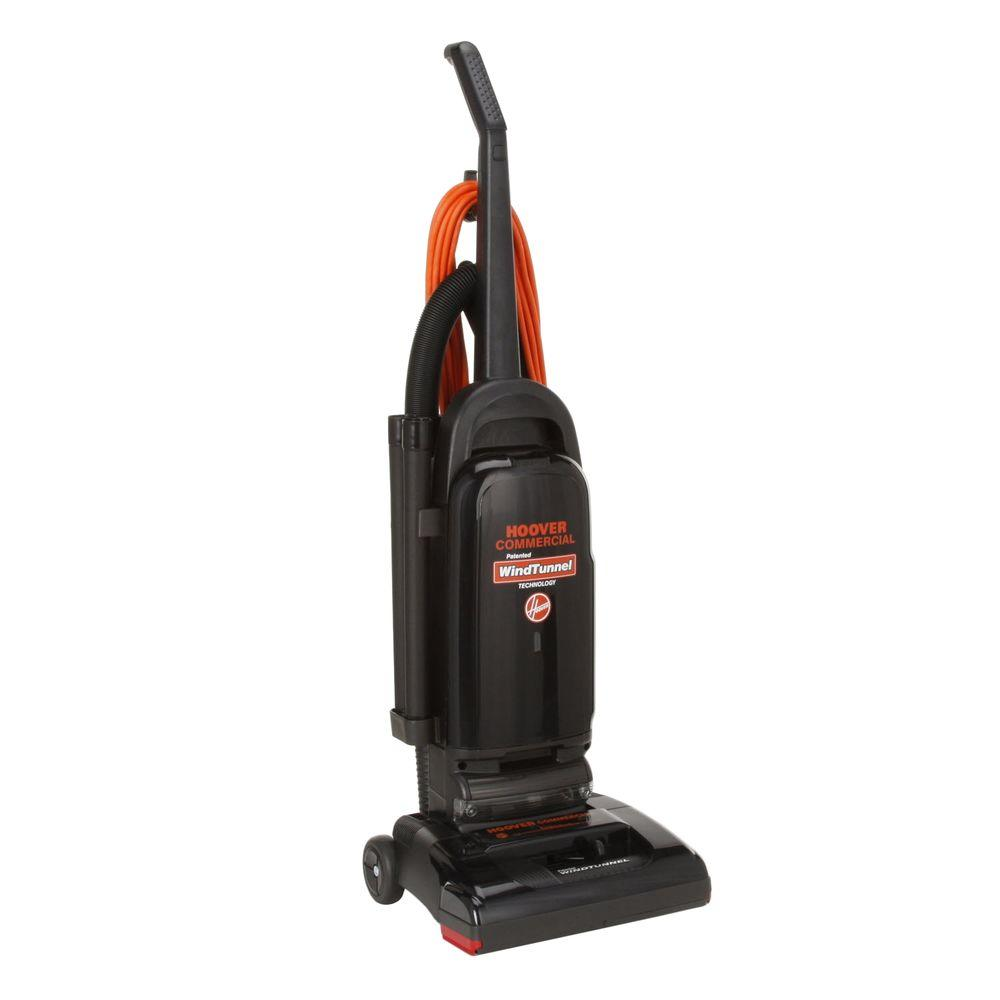 Hoover Commercial Windtunnel Bagged Upright Vacuum Cleaner 13 In Nozzle Width