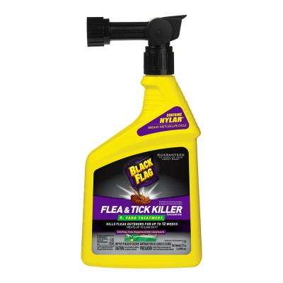 Flea and Tick Yard Spray 32 oz. Ready to Spray Concentrate