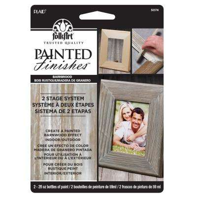 Faux Barn Wood Painted Finish Kit